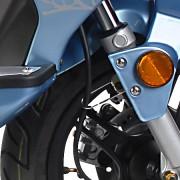 Tauris Roller Samba 50 / 2T Racing Detailansicht Reifen vorne