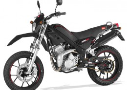 Rieju Motorrad Tangoo! 125 in Farbe Schwarz