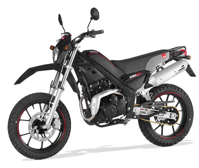 Rieju Motorrad Tangoo! 250 in Farbe Schwarz