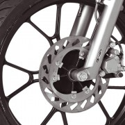 Rieju Motorrad Tangoo! 50 Detailansicht Reifen vorne