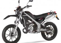 Rieju Motorrad Tangoo! 50 in Farbe Schwarz