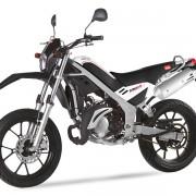 Rieju Motorrad Tangoo! 50 in Farbe Weiß