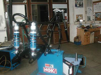 Produktion eines Yamaha Production Racers