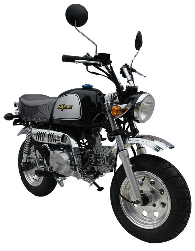 SkyTeam Motorrad Gorilla 50 in Farbe Schwarz