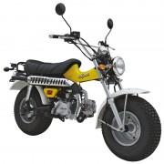 SkyTeam Motorrad T-Rex 125 in Farbe Gelb